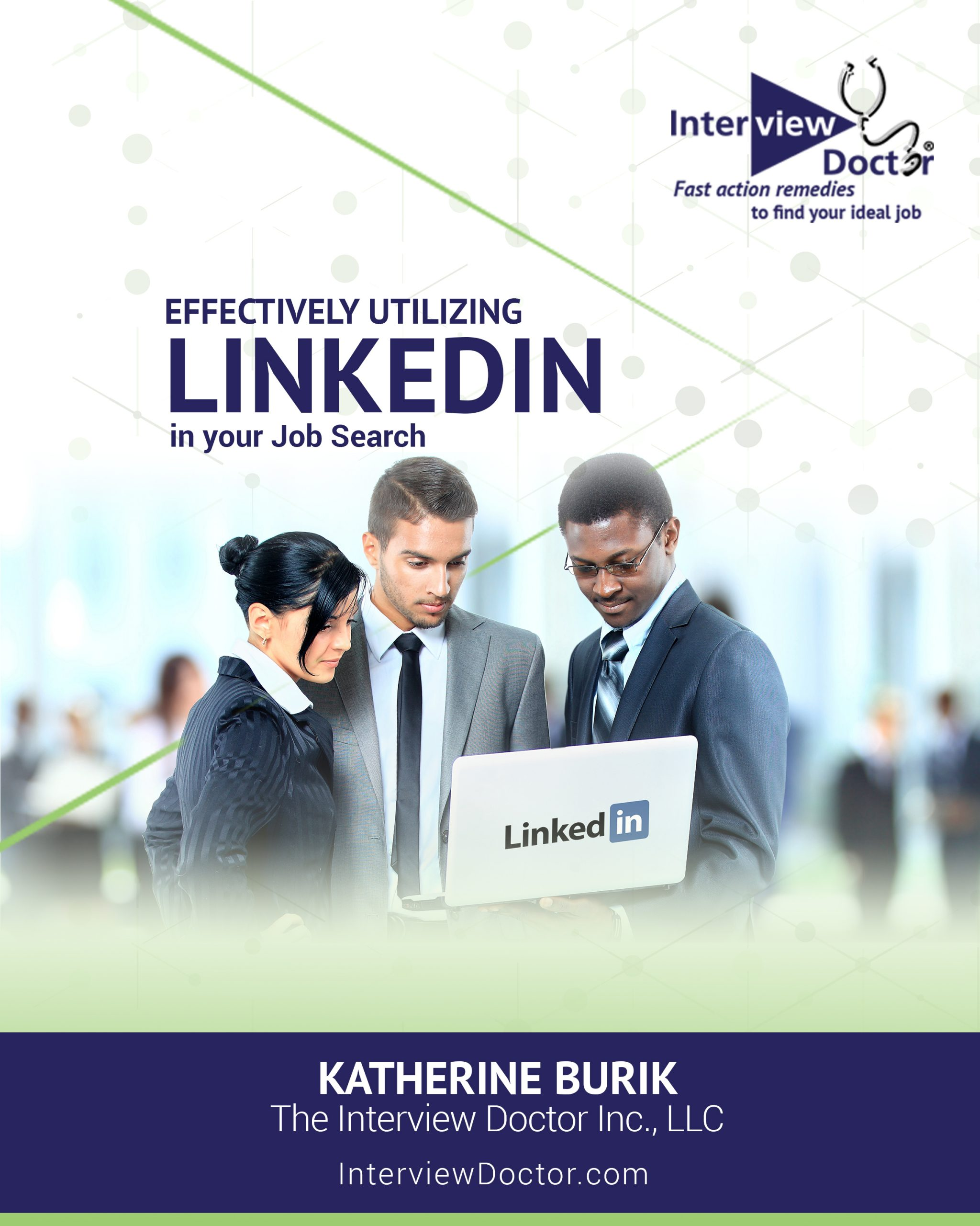 Effectively Utilizing LinkedIn in your Job Search_cover