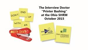 printer bashing at ohio shrm