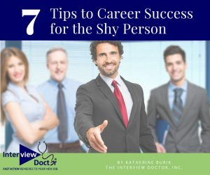 7 tis for career success for shy people