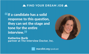 Find your dream job podcast