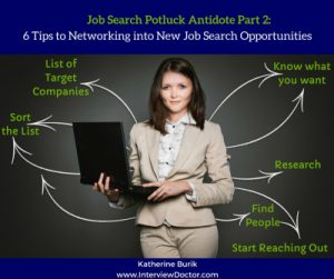 Network to find new job opportunities