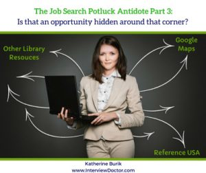 Researching for your job