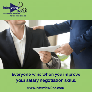 improving your salary negotiation skills