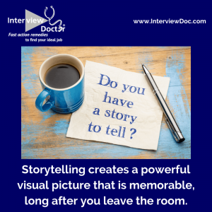 share experiences through a story