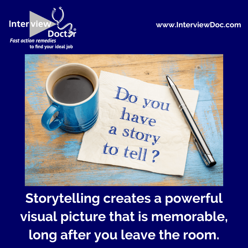 share experiences through a story