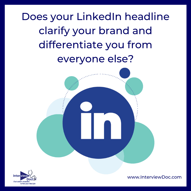 differentiate yourself with your LinkedIn headline