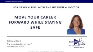 Move your career forward while staying safe