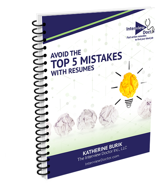 top mistakes made with resumes