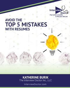 avoid mistakes with resumes