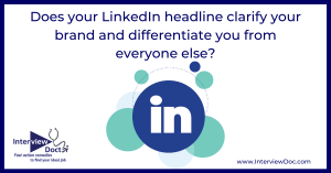 differentiate yourself with LinkedIn headline