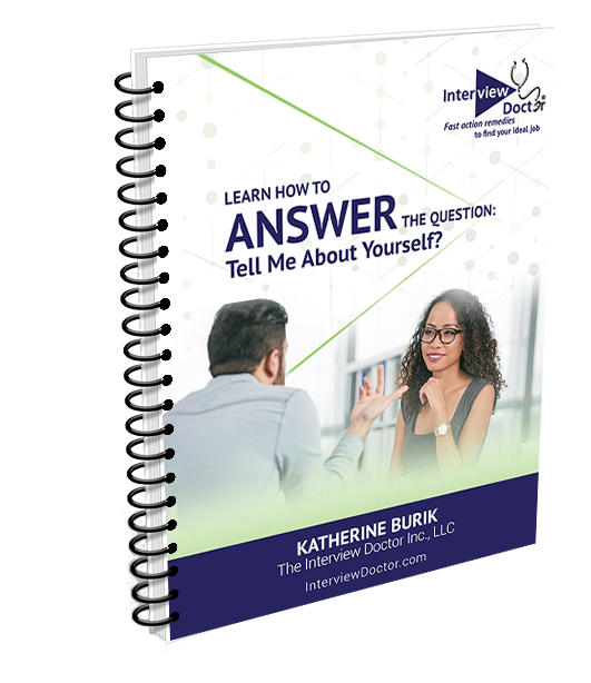 tell me about ypourself question job interview