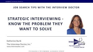 strategic interviewing in job search