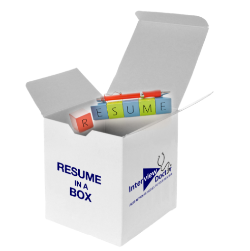 resume in a box