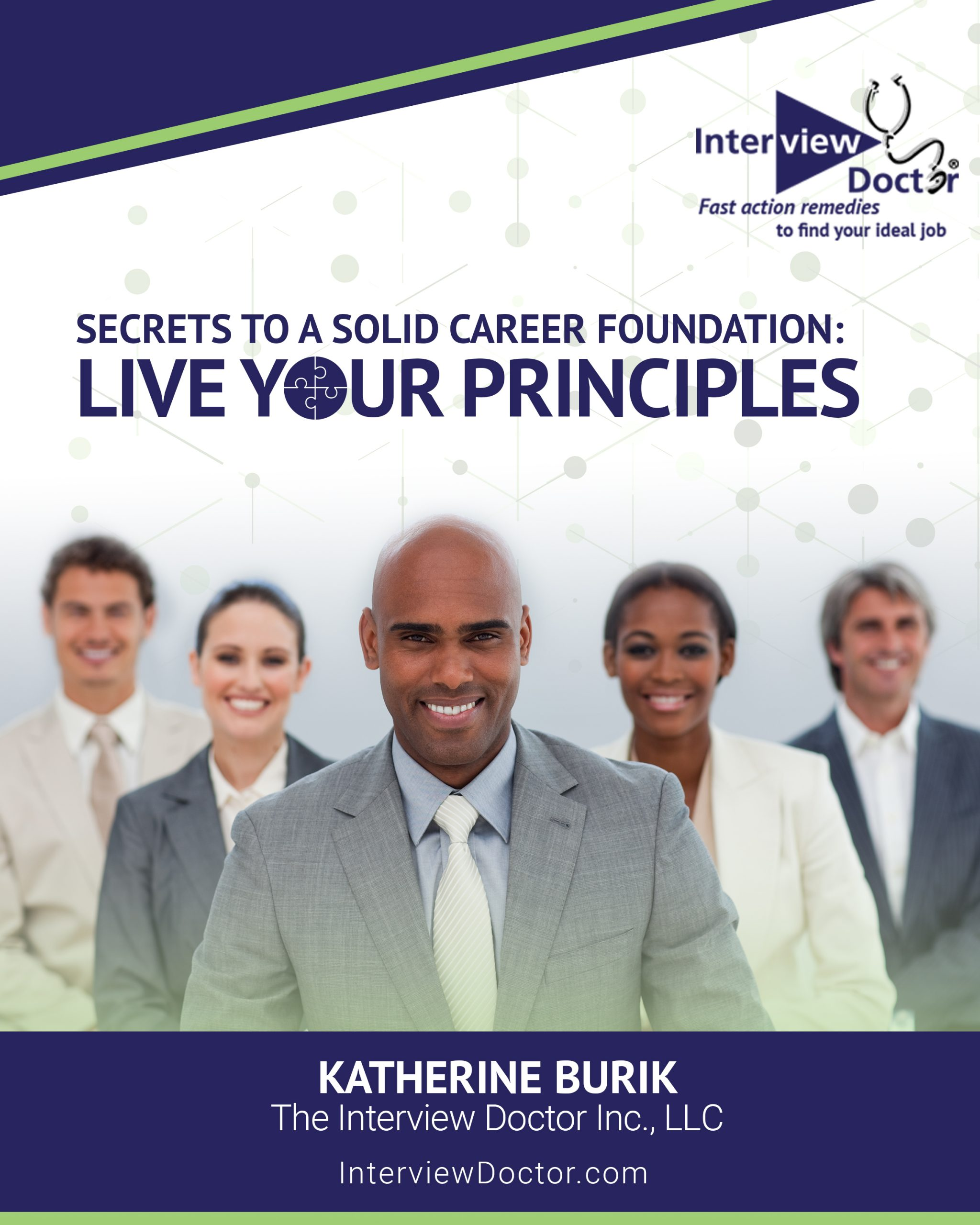 Secrets to a Solid Career Foundation- Live your Principles._cover