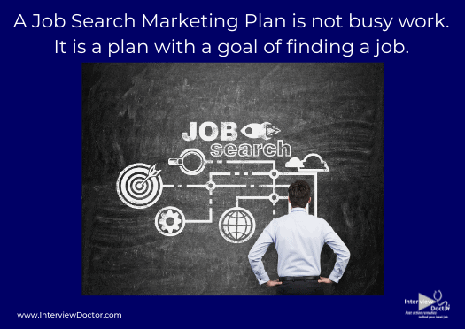 a job search marketing plan helps with the goal of finding a job