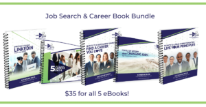 bundle of job search books