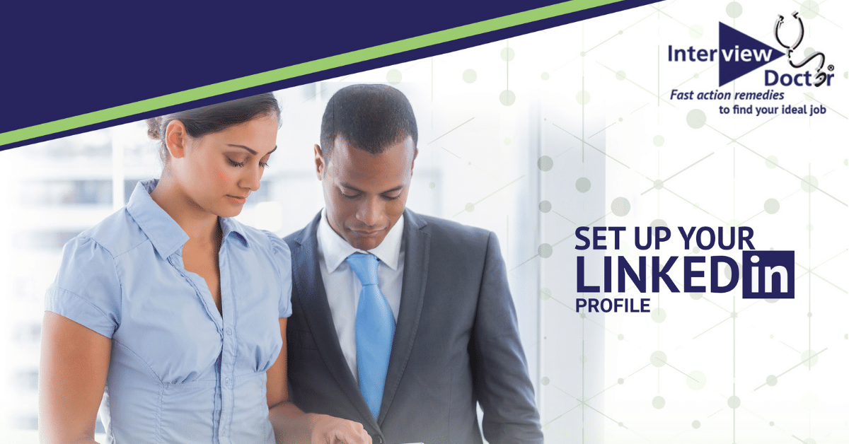 how to setup your linkedin profile
