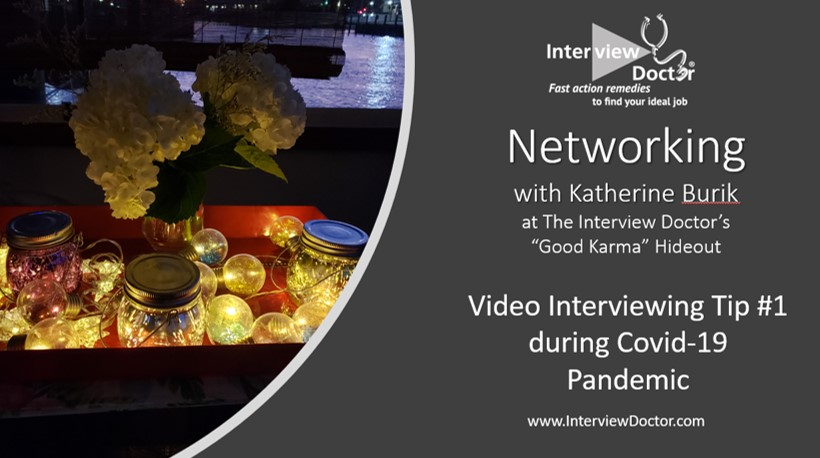 make your best impression during a video interview