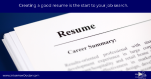 create a resume that gets you a job interview