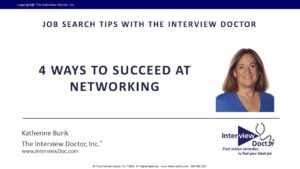 succeed at networking