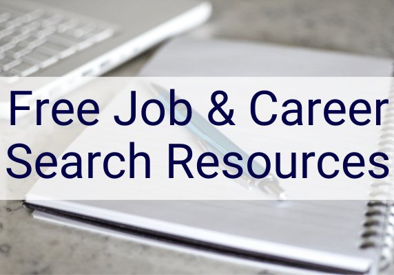 free job search and career resources