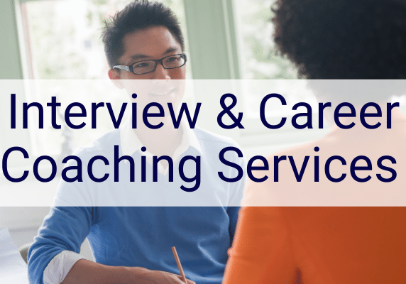 job search interview coaching