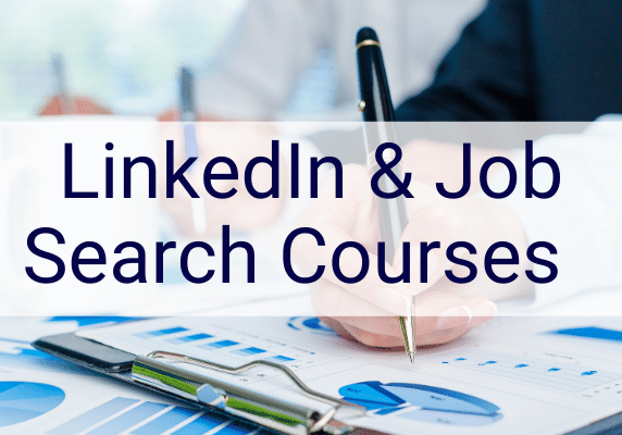 linked in training job search training